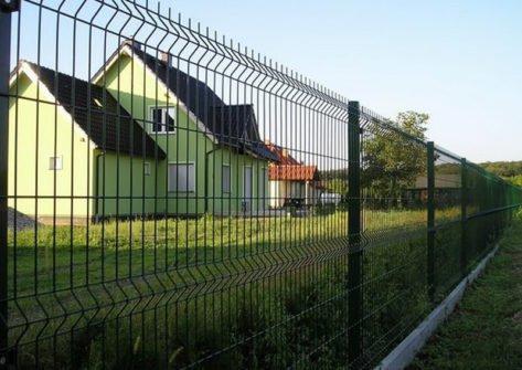 секционный 3d забор