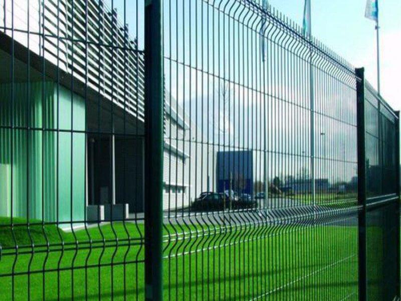 Забор из 3D панелей